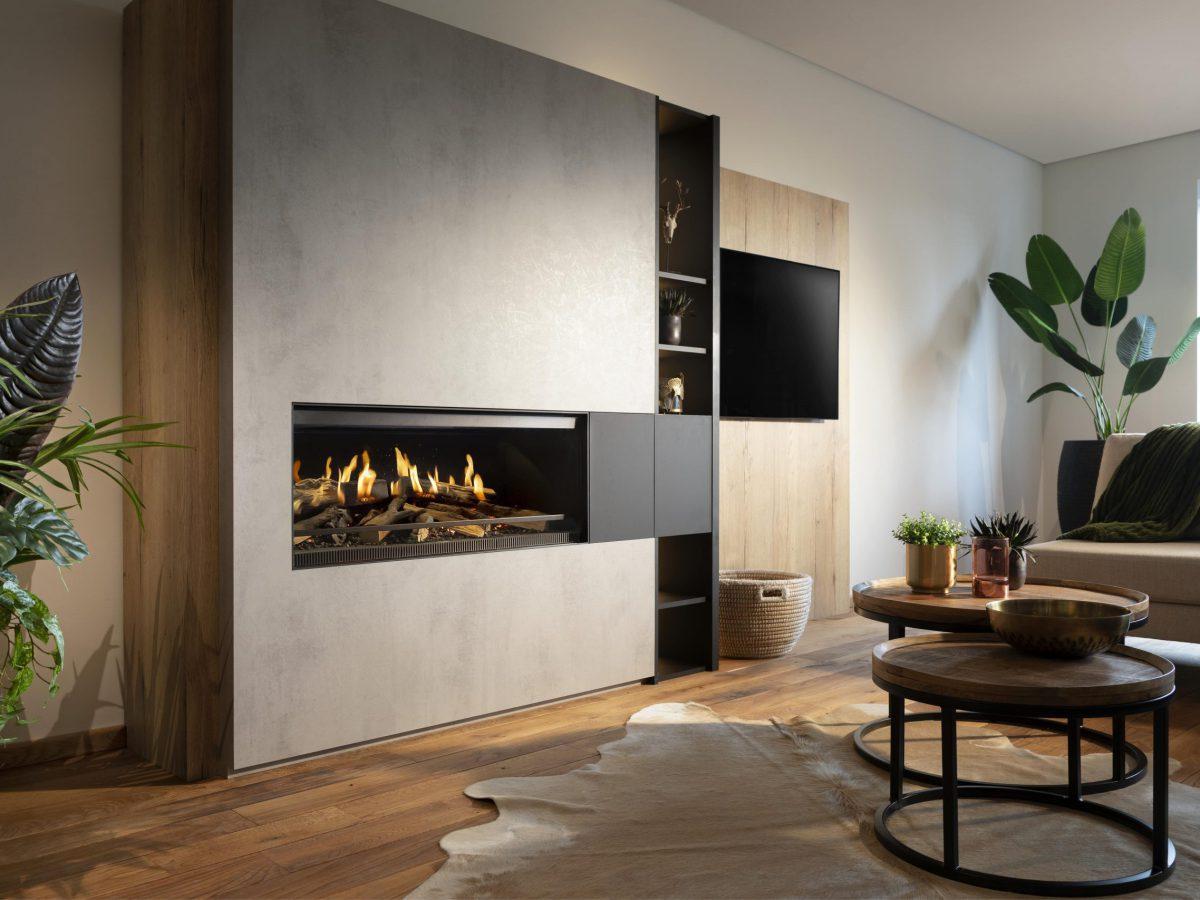 Kalfire Gas fires | heat design company