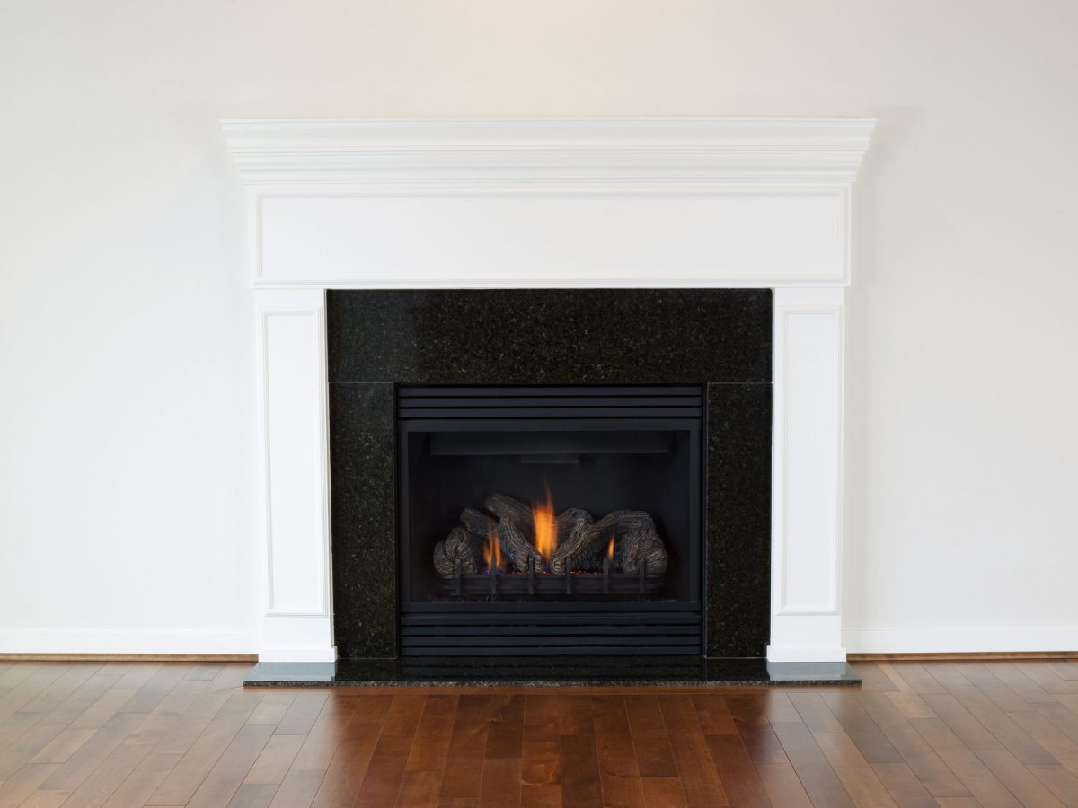 Large Natural Gas Fireplace | heat design company
